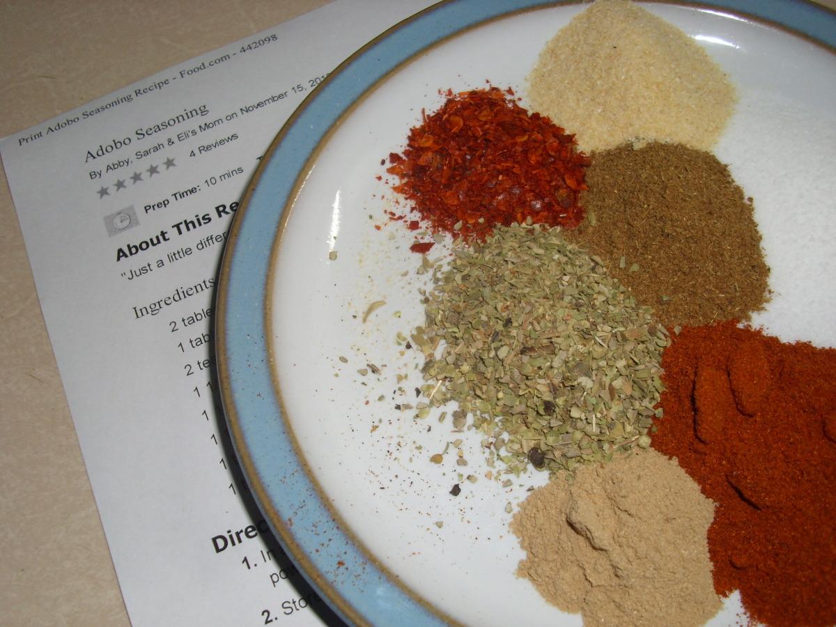 Adobo Seasoning Recipe Food Com