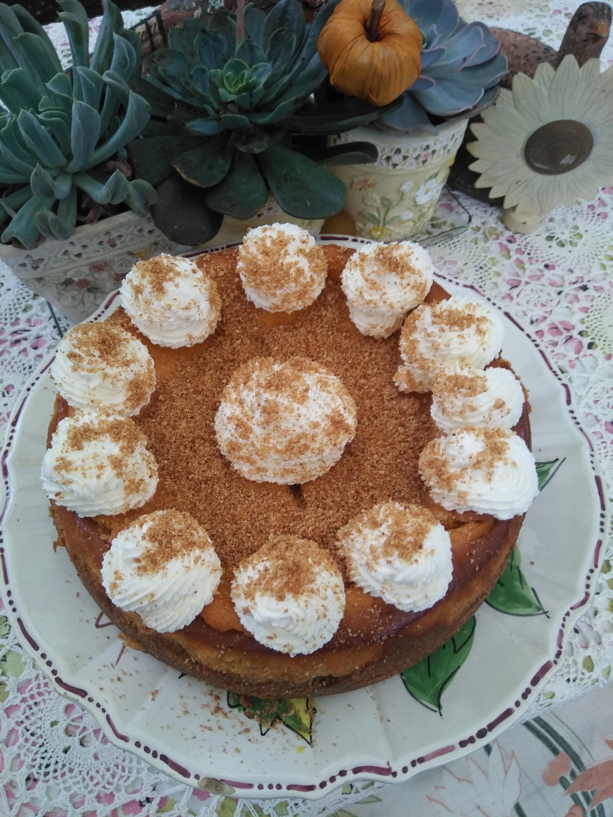 Paula Deen S Pumpkin Cheesecake Recipe Food Com