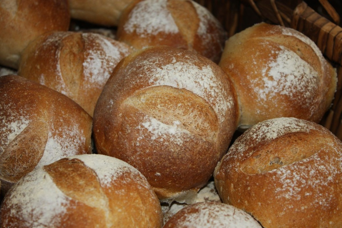 Easy Crusty Bread Rolls image