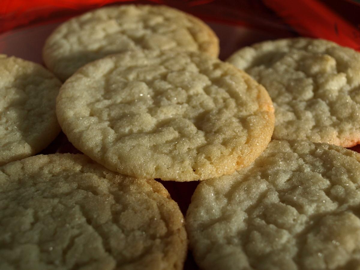 Mom's Cracked Sugar Cookies image