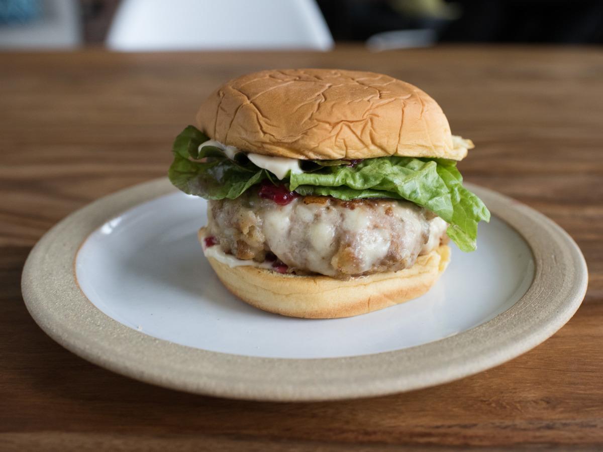 Thanksgiving Turkey Burger With Cranberry Mayo Recipe Food Com