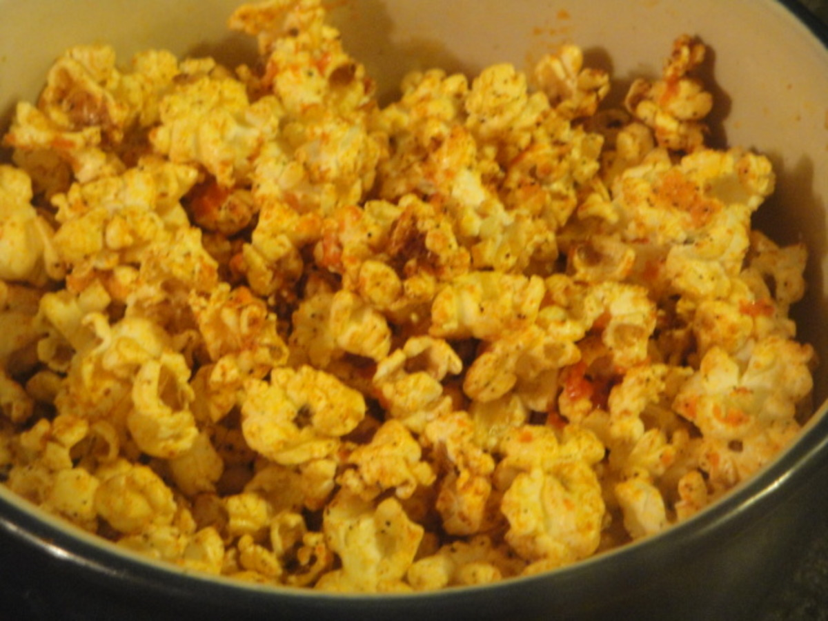 Spicy Popcorn Seasoning Recipe Food Com