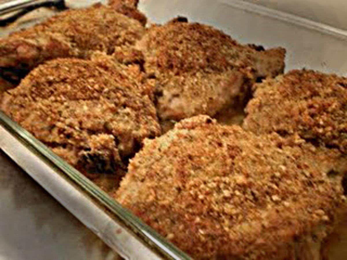 Hellmann S Zesty Parmesan Mayo Crusted Chicken Recipe Food Com