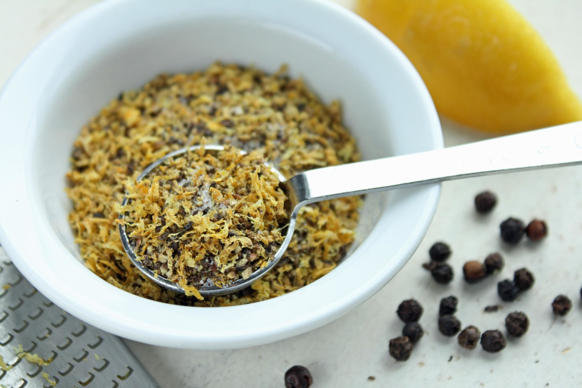 Homemade Lemon Pepper Seasoning image