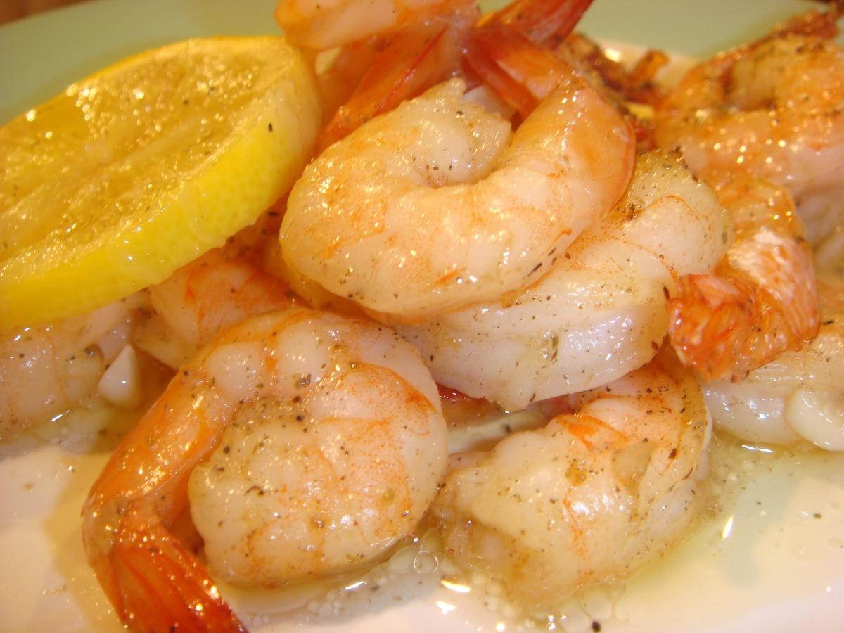 Roasted Lemon Garlic Herb Shrimp image