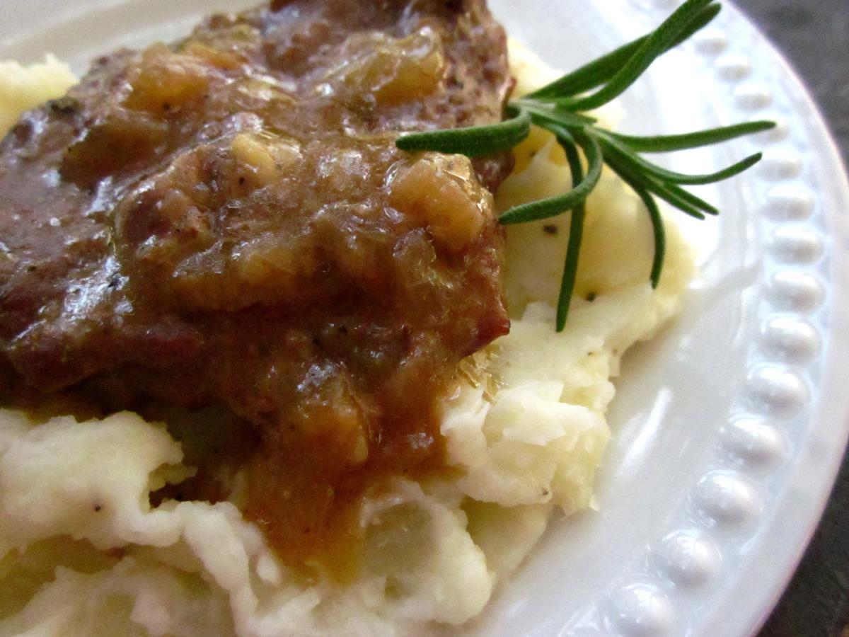 Swiss Steak With Brown Gravy image