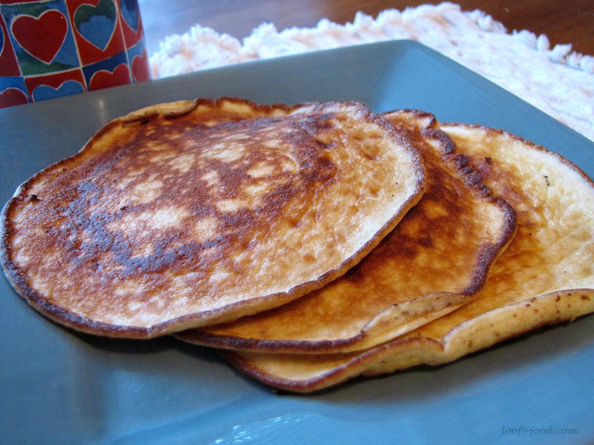 Cream Cheese Pancakes image