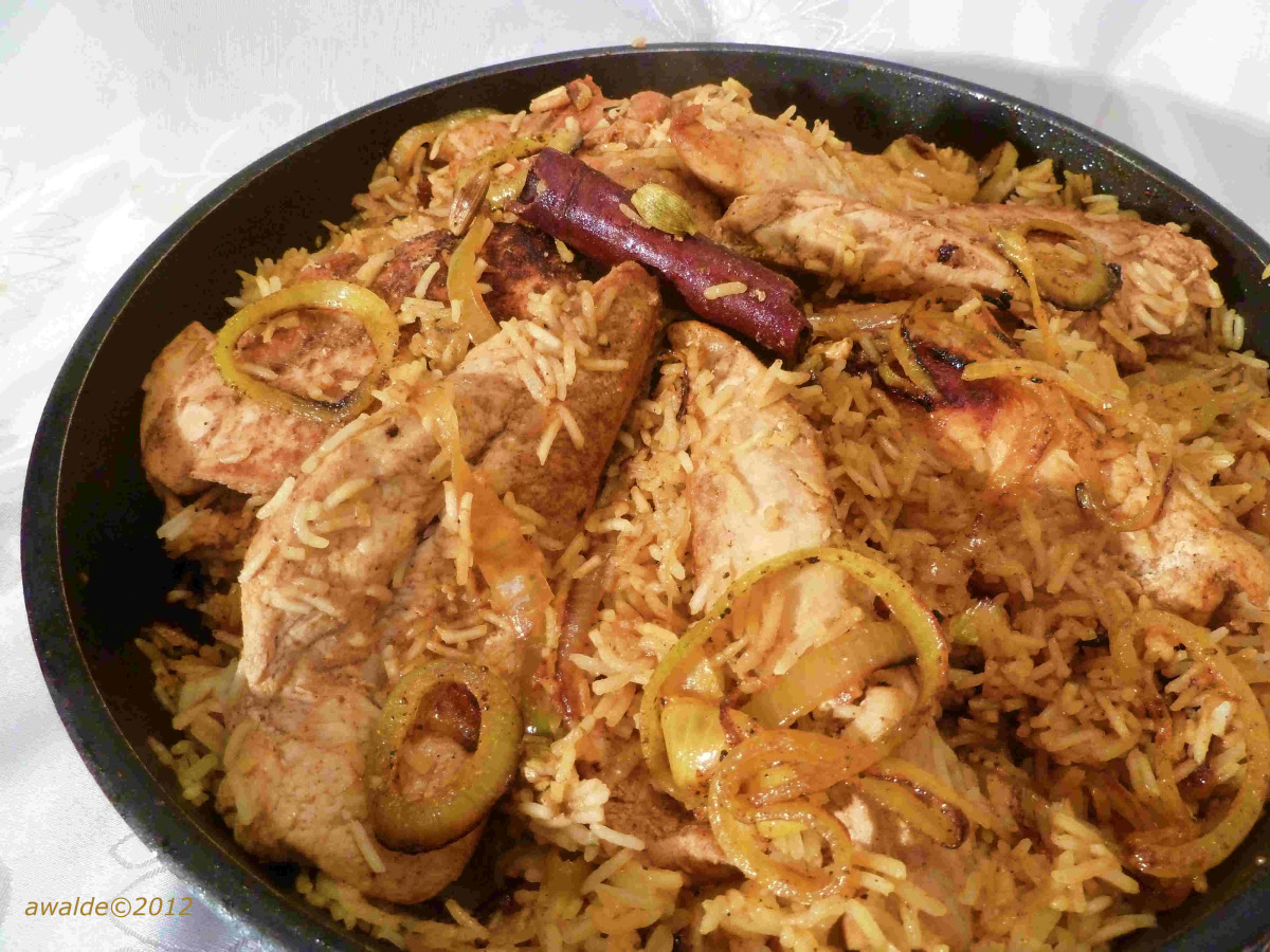 Dajaj Fe Ga3ateh - Chicken at the Bottom (Bahrain) image
