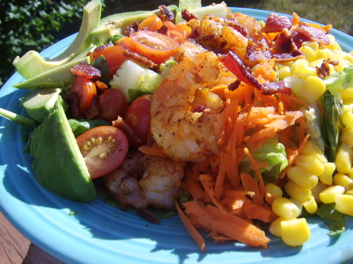Shrimp Cobb Salad image