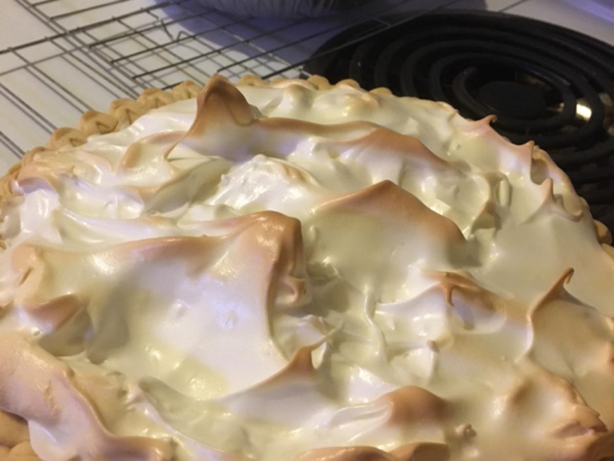 Grandma's Lemon Meringue Pie image