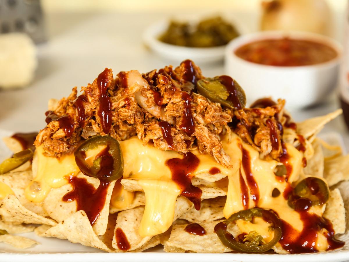 Mile High Memphis Style Barbecue Nachos Recipe Food Com