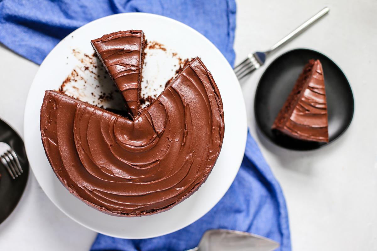 Double Chocolate Layer Cake image