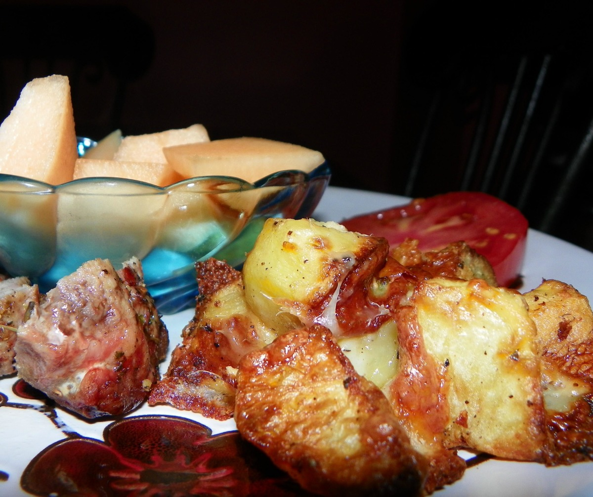 Crispy Roasted New Potatoes_image