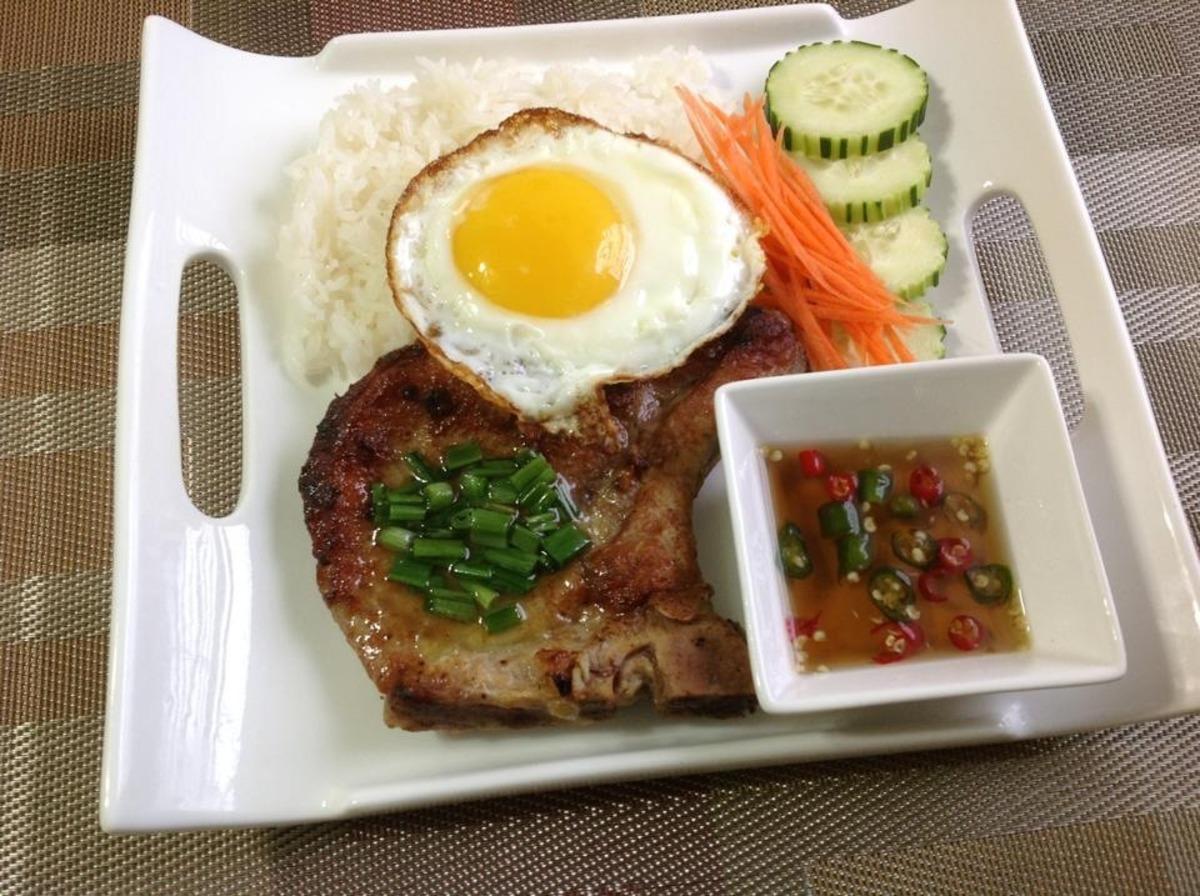 vietnamese pork chop and egg recipe Vietnamese Pork Chop