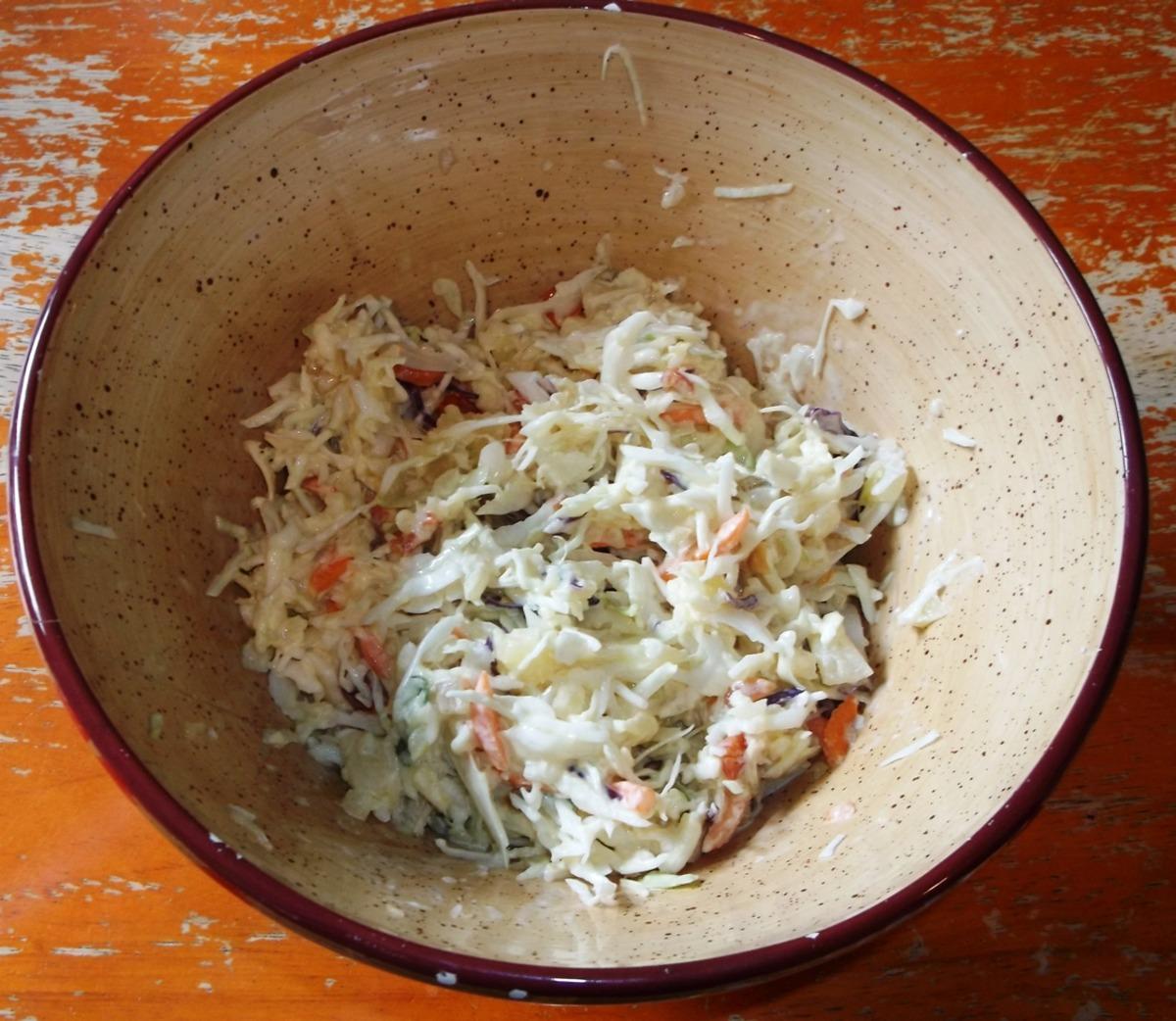Creole Pineapple Coleslaw image