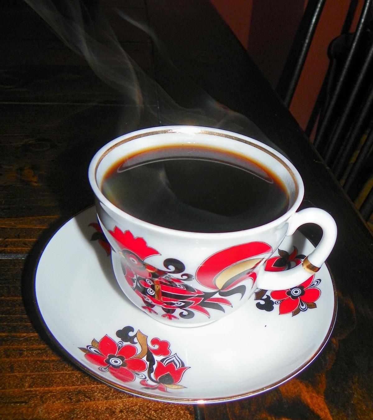 Cinnamon Saffron Coffee image