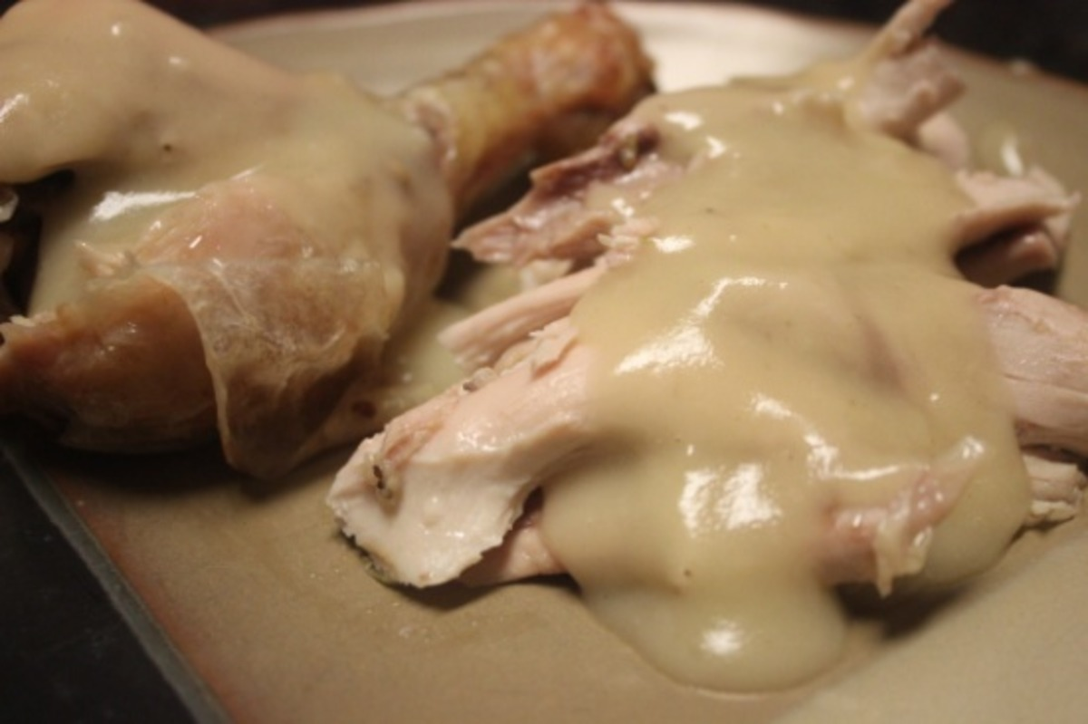 Easy Homemade Chicken Gravy From Scratch Recipe Food Com