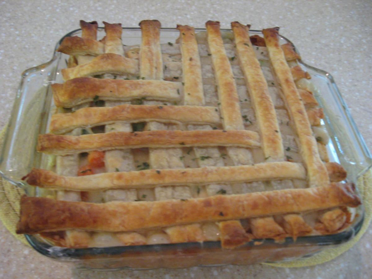 Puff Pastry Chicken Pot Pie image