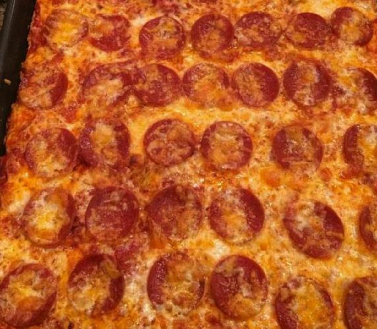 Zero Carb Pizza image