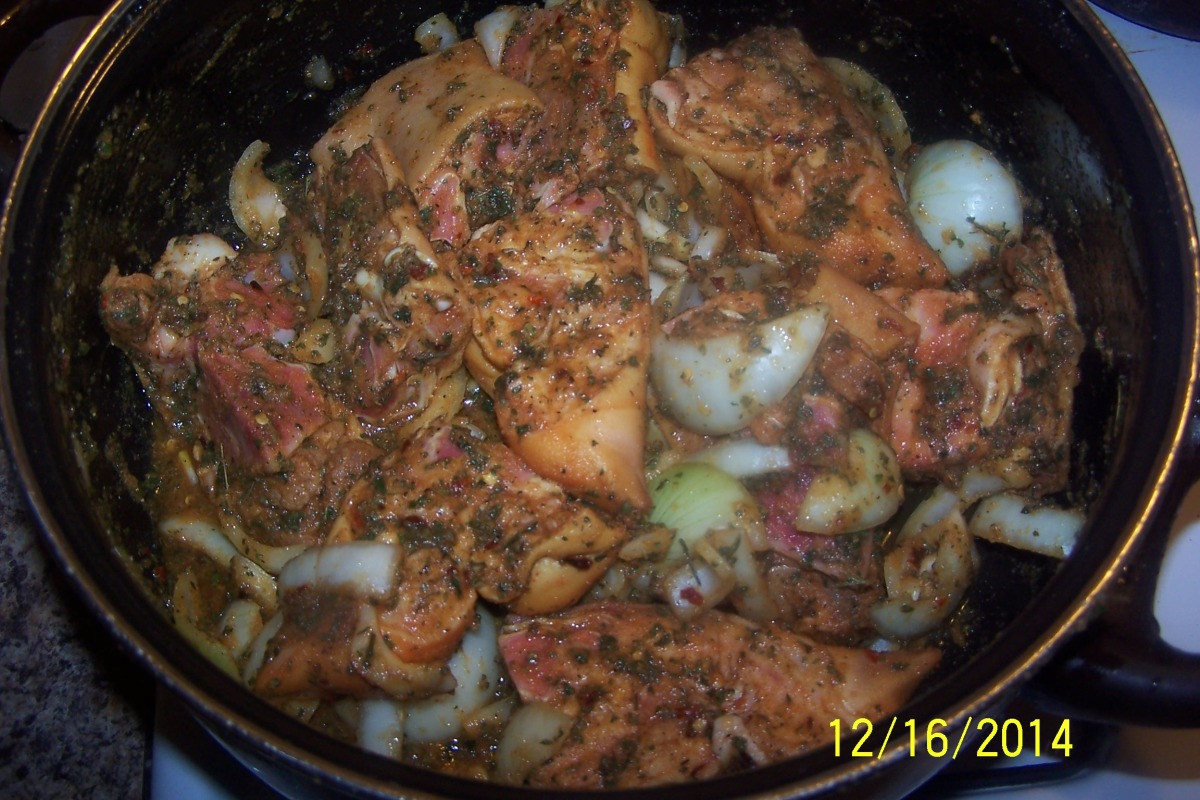 Boiled Pig Feet Recipe Food Com