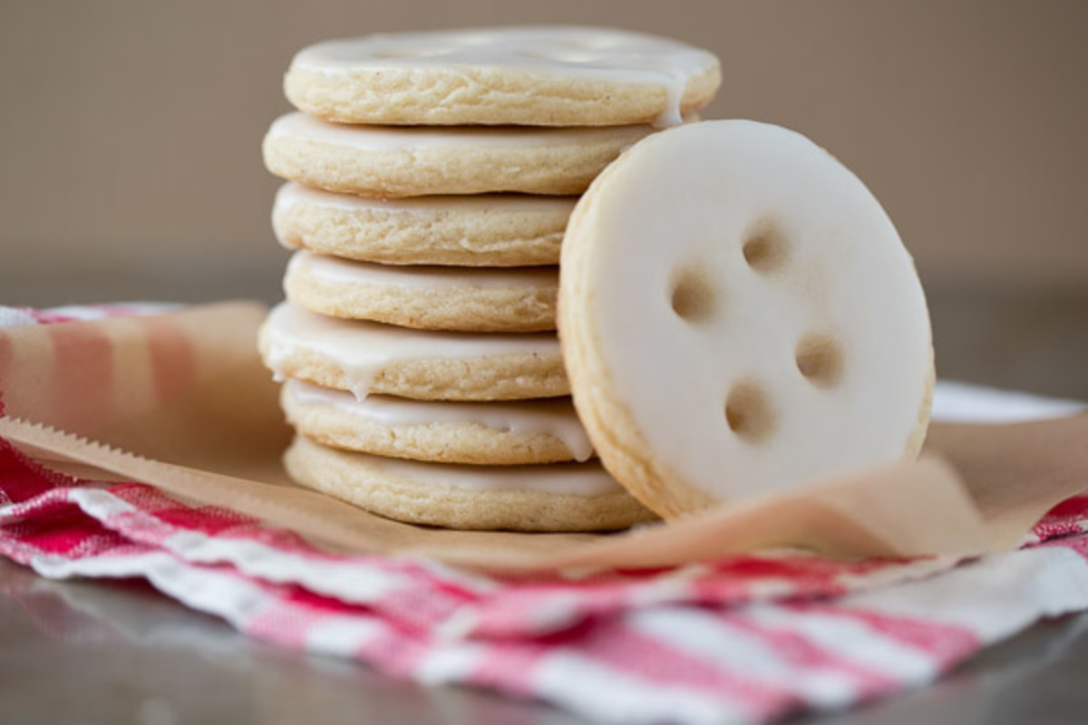 Buttons For Eyes Cookies Recipe Food Com