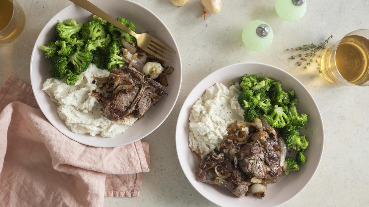 braised lamb chops image