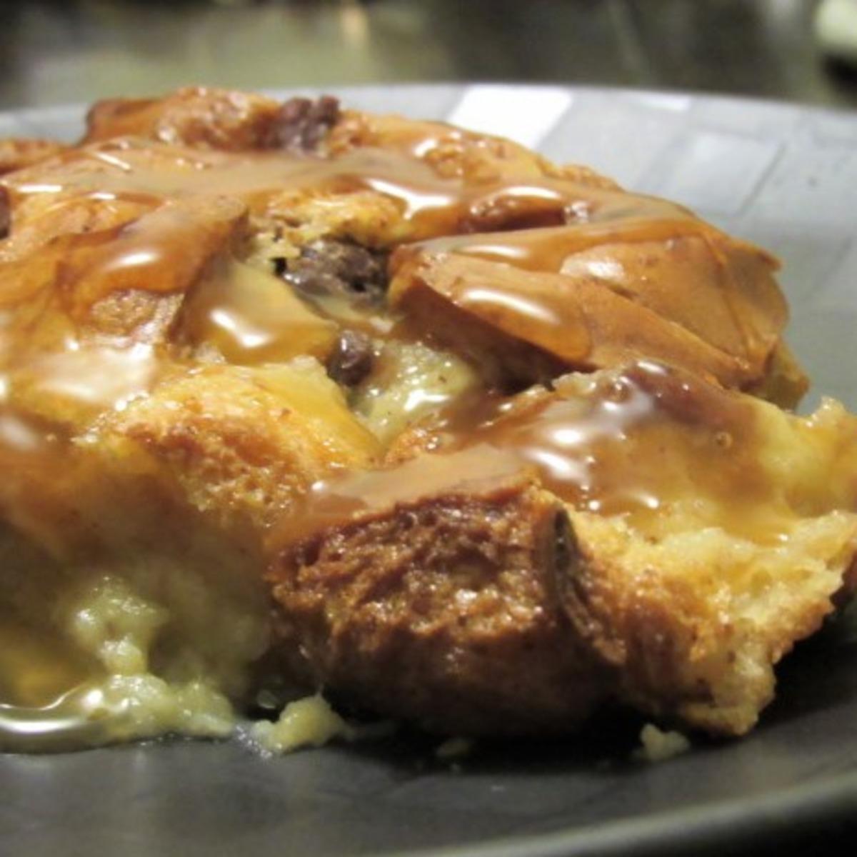 Croissant Bread Pudding image