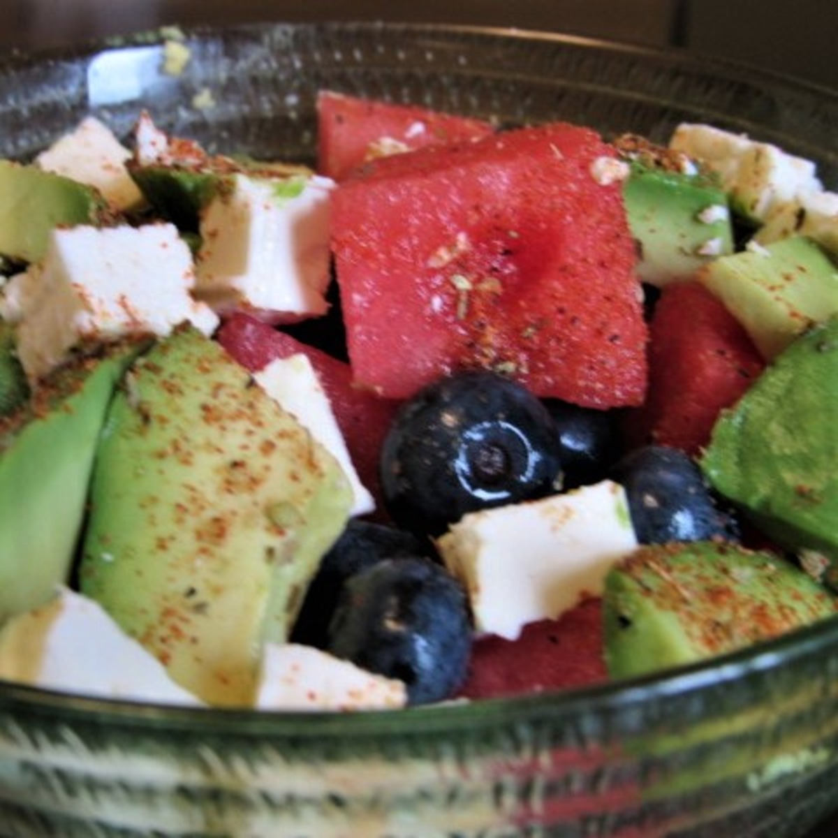 Creole Watermelon Feta Salad image