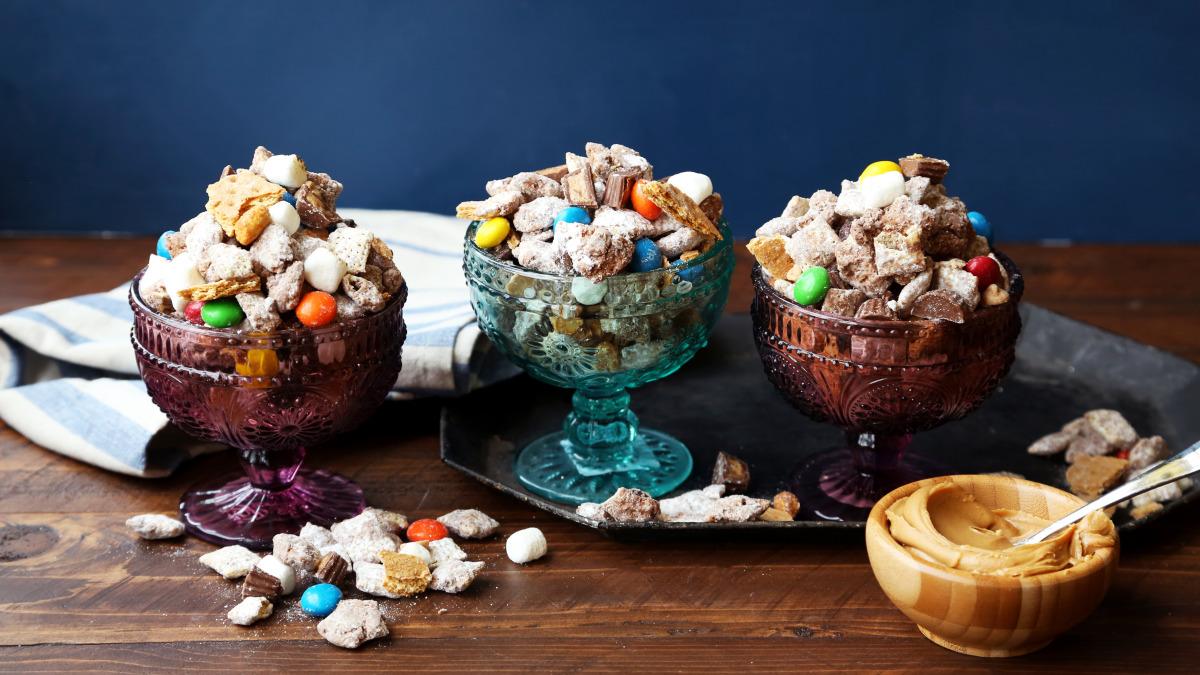 Peanut Butter S Mores Puppy Chow Recipe Food Com