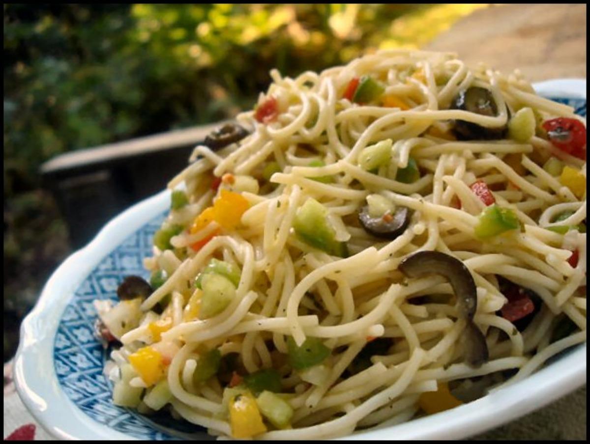 Ranch Picnic Pasta Salad image