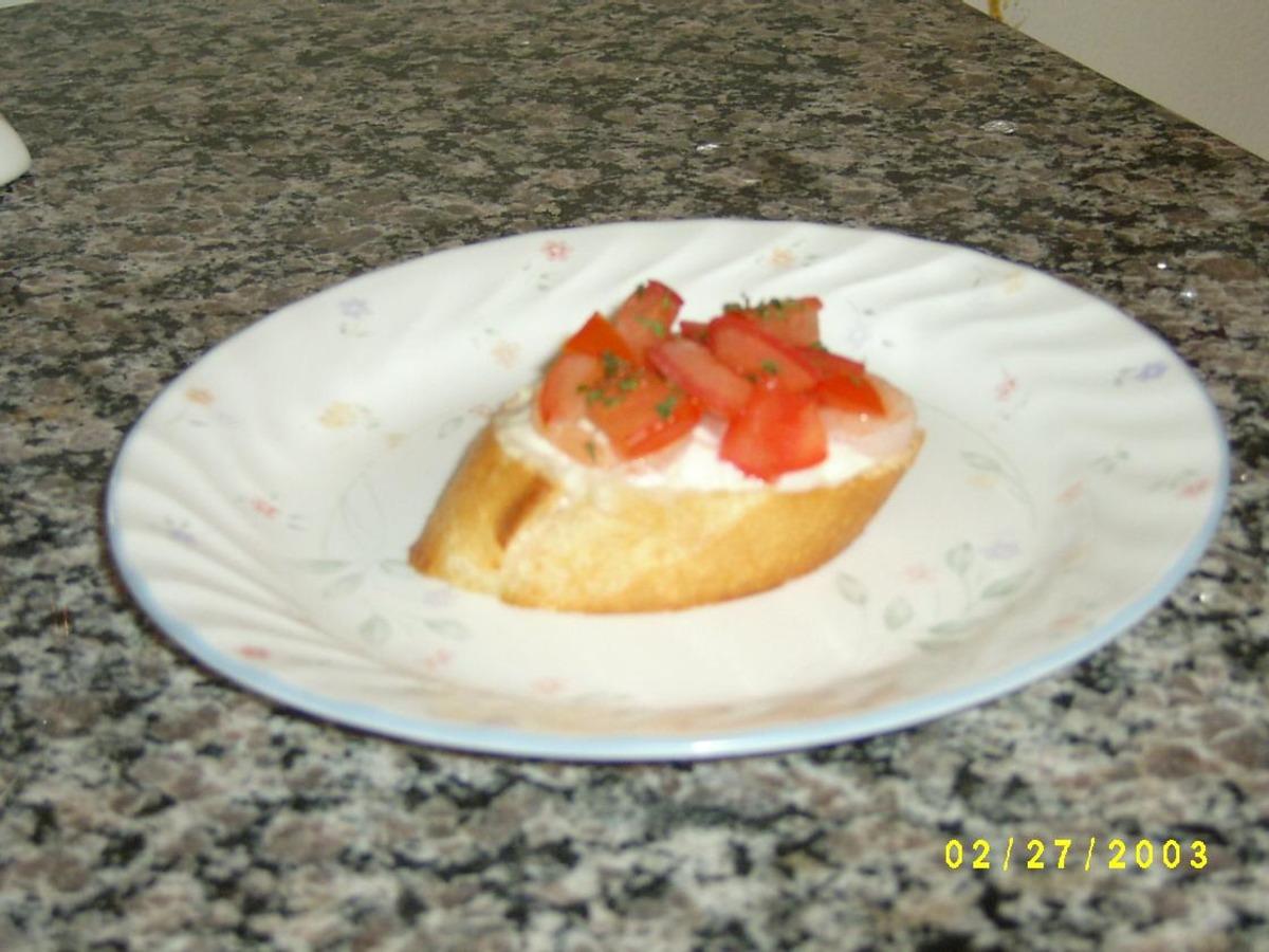 Crab Crostini image