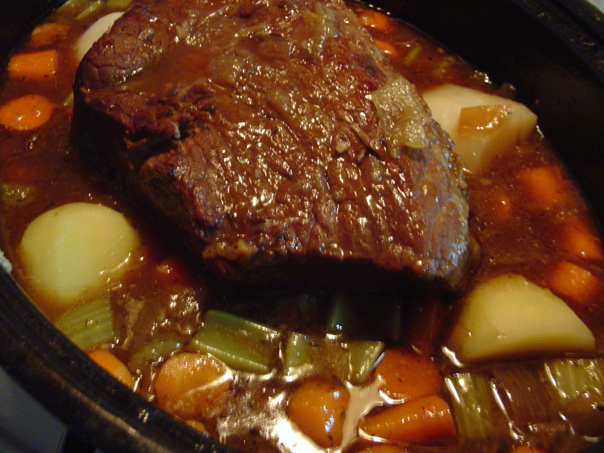 Onion Pot Roast Recipe Food Com