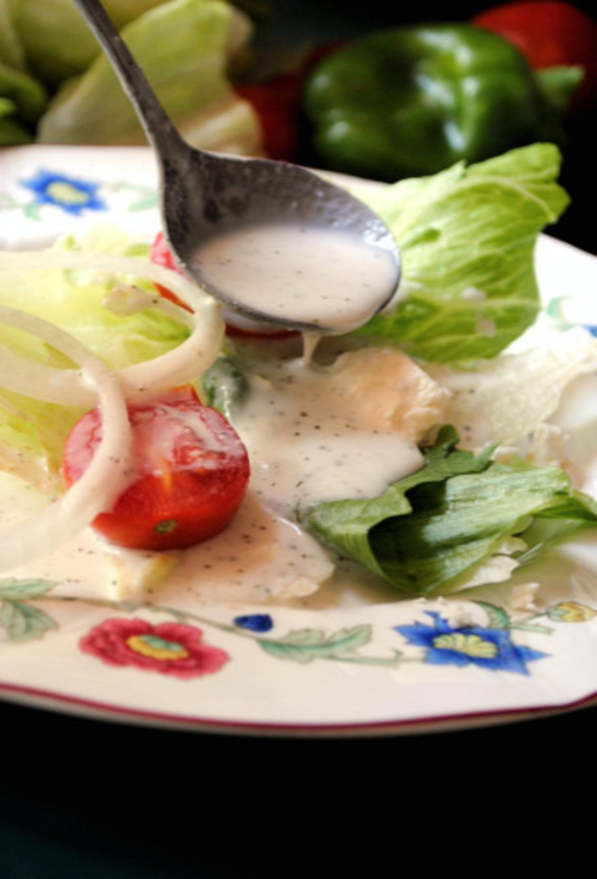 Creamy Greek Salad Dressing image