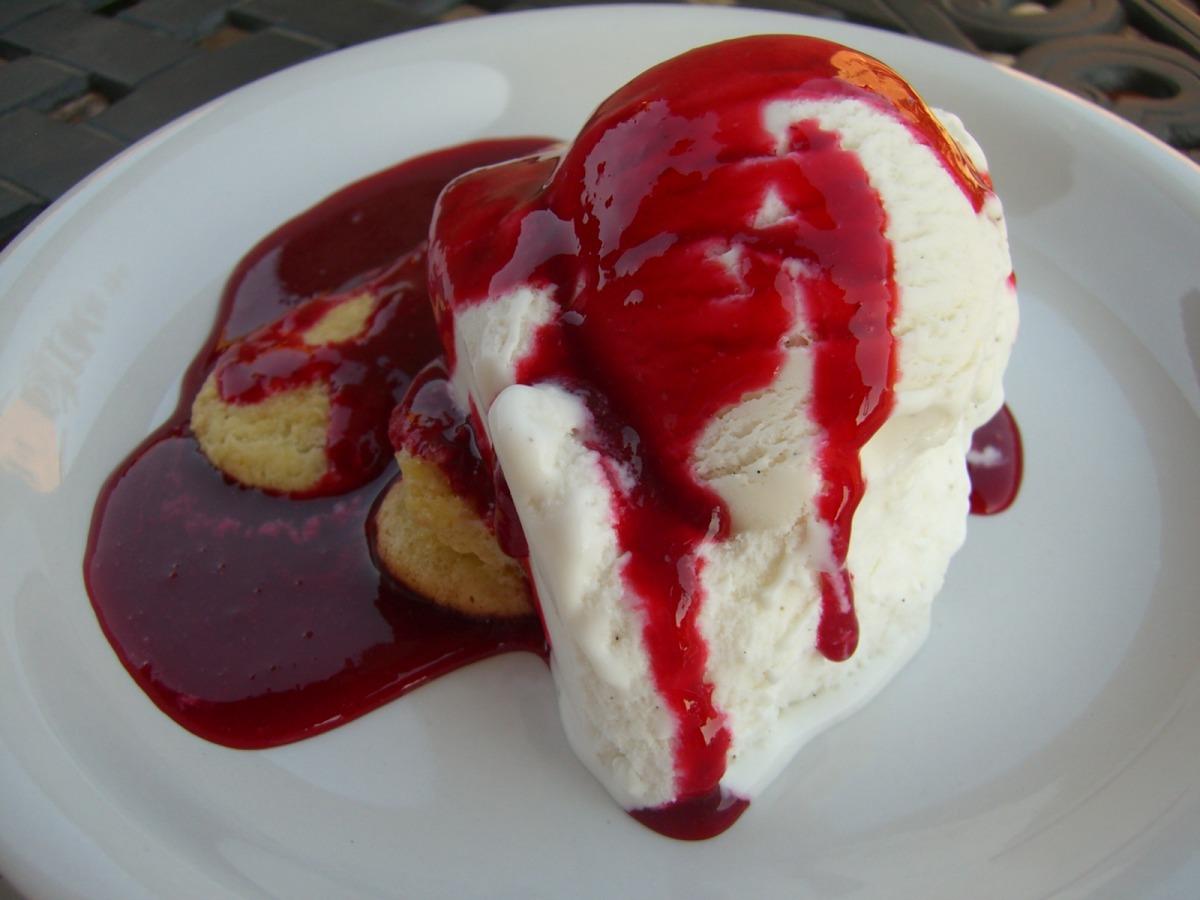 Raspberry Ice Cream Sundae Sauce image