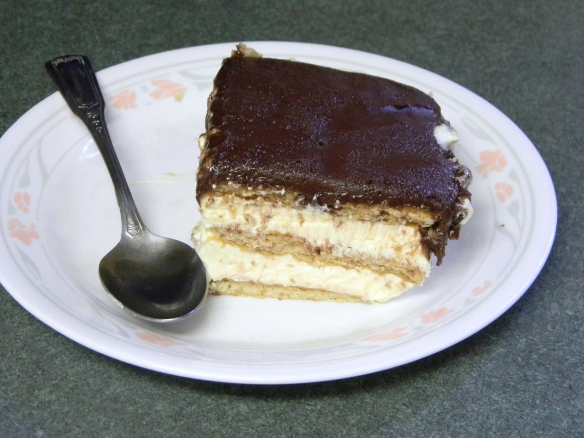 Chocolate Eclair Torte image
