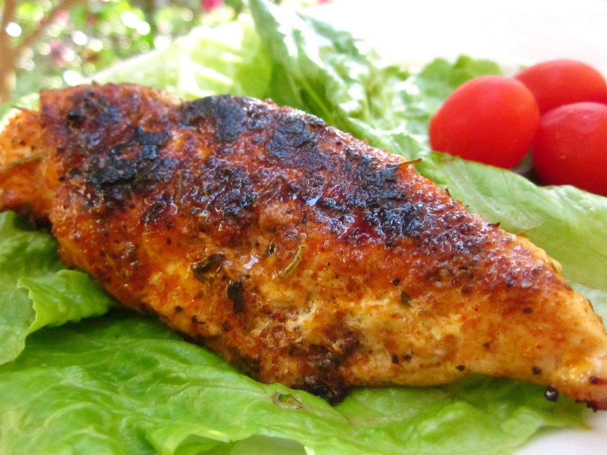Louisiana Style Blackened Chicken image