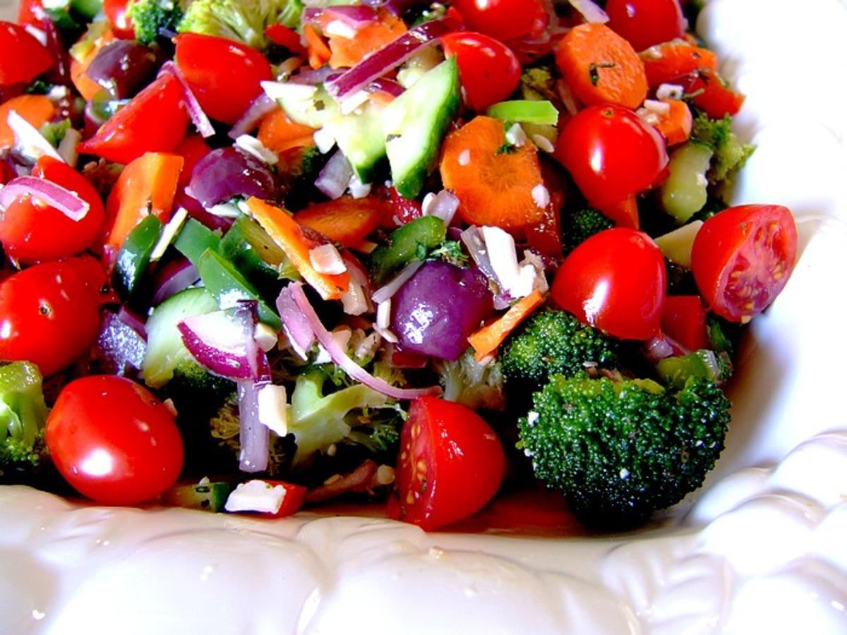 Marinated Vegetable Salad_image