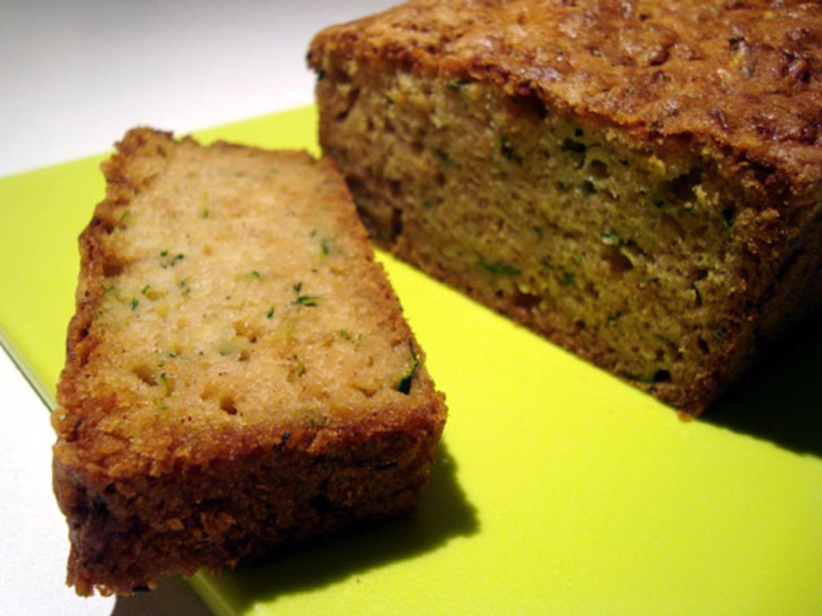 Zucchini-Pineapple Loaf Cake image