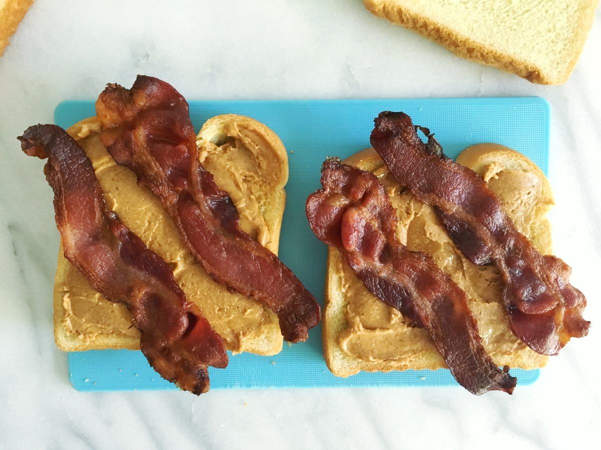 Peanut Butter And Bacon Sandwich Recipe Food Com