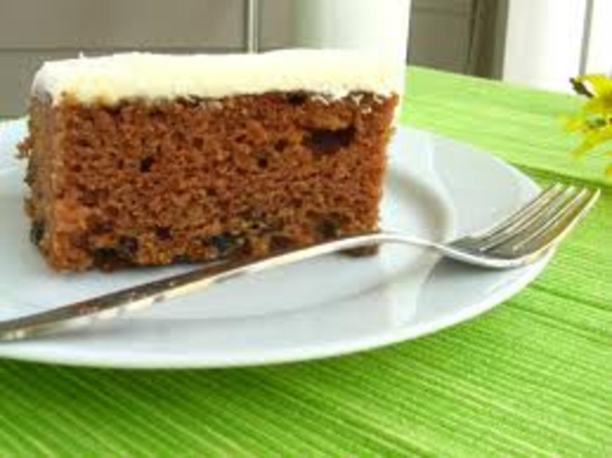 A & P Spanish Bar Cake image
