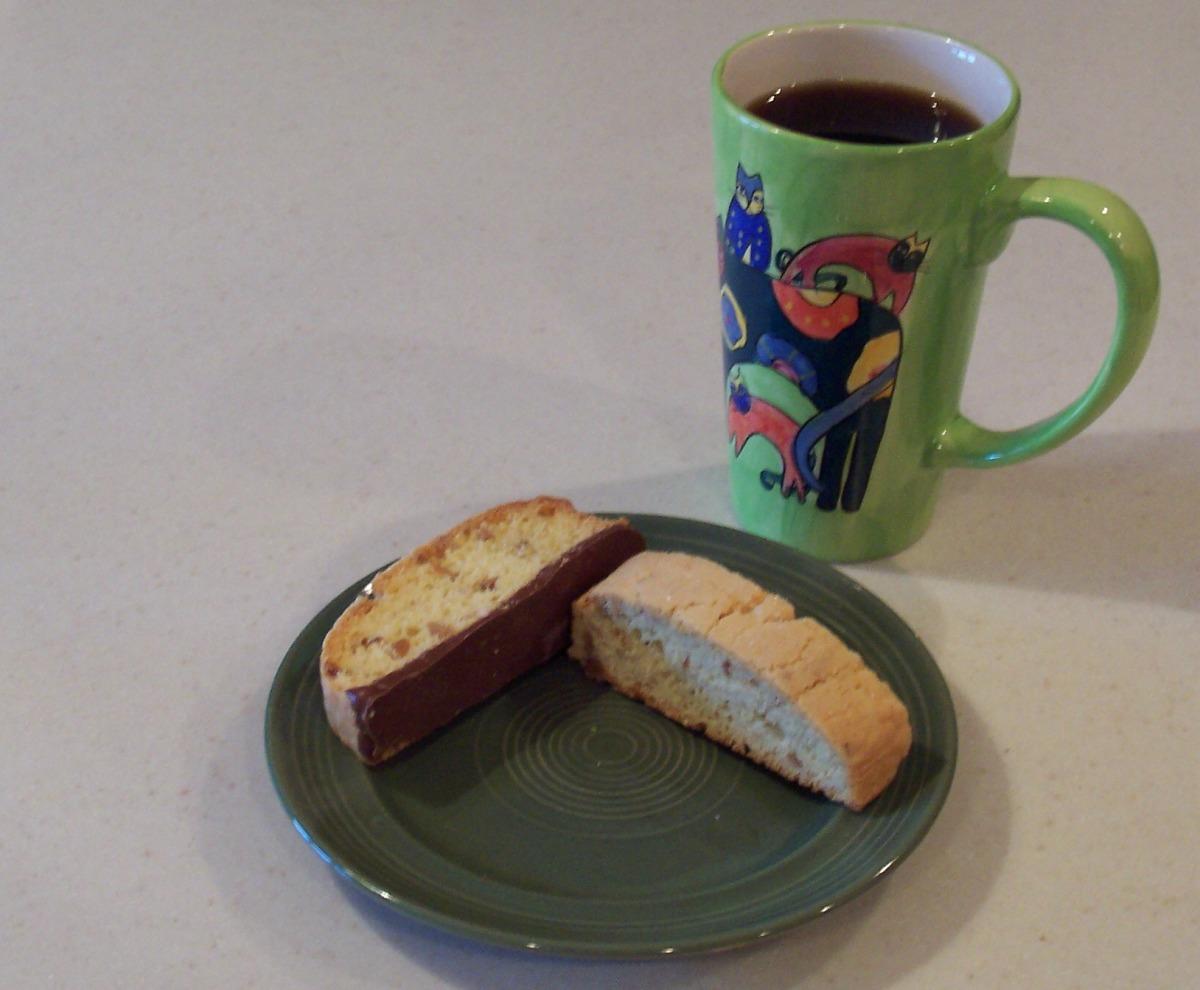 Almond-Anise Biscotti image