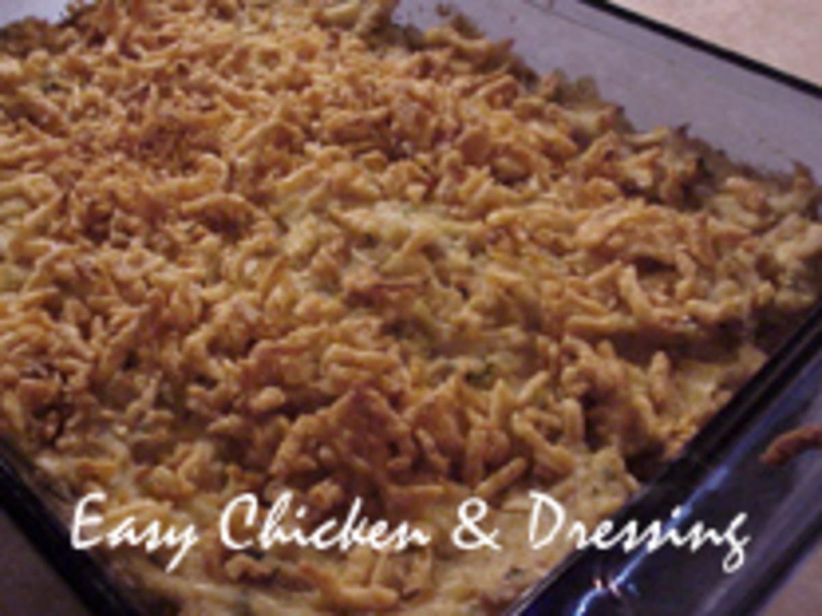 Easy Chicken & Dressing_image