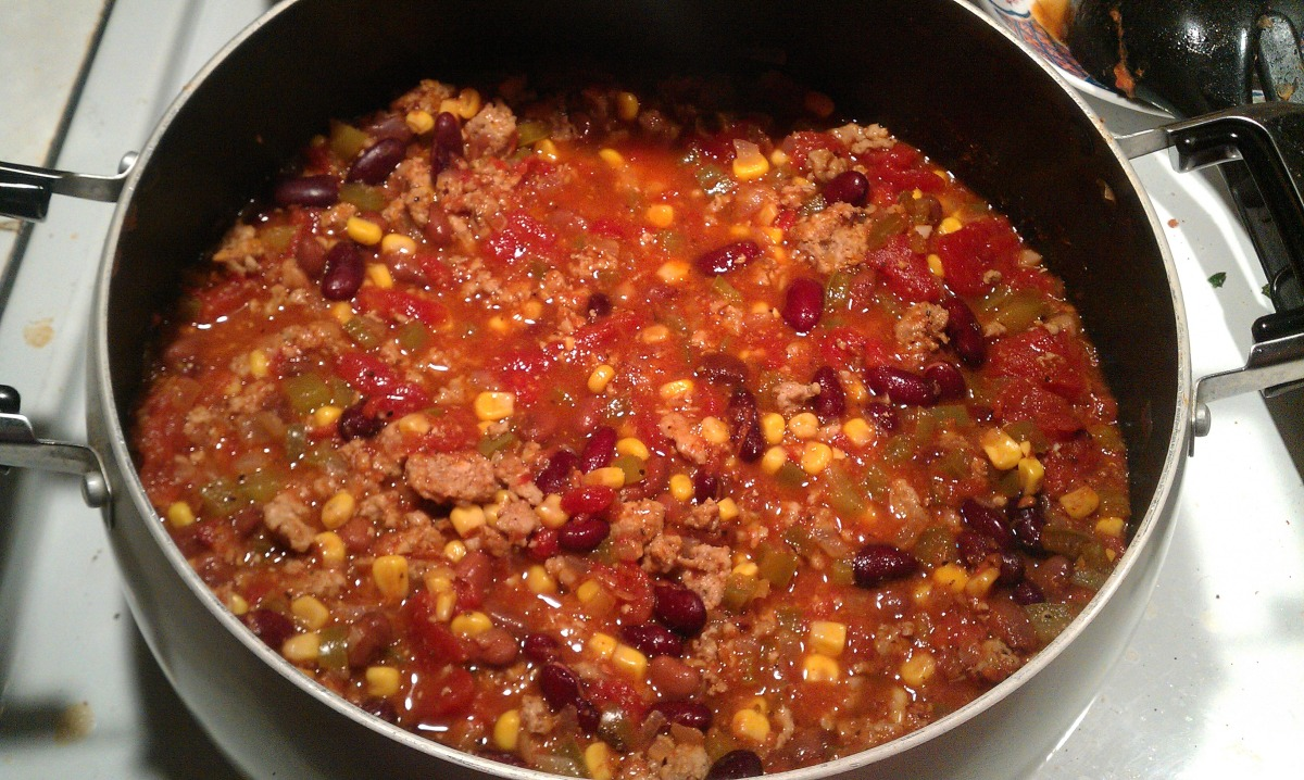 Ground Turkey Chili Recipe Food Com