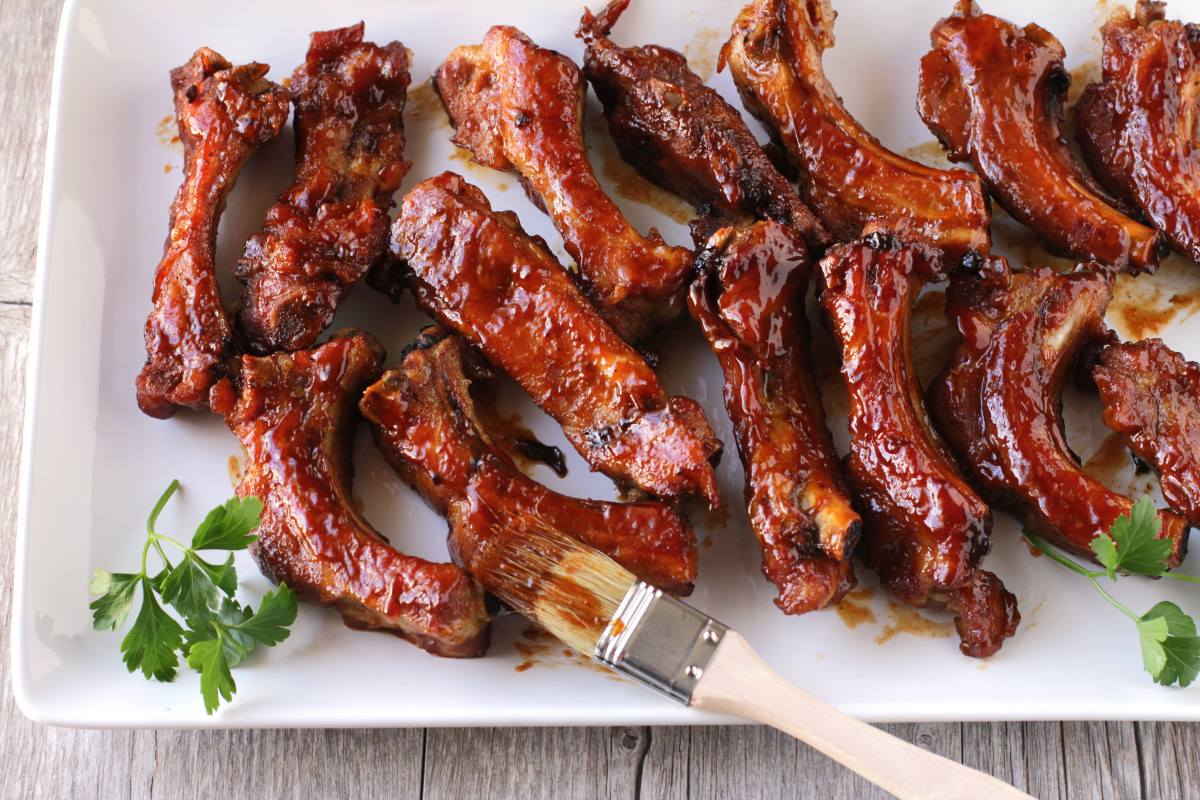 Should Be Illegal Oven Bbq Ribs Recipe Food Com