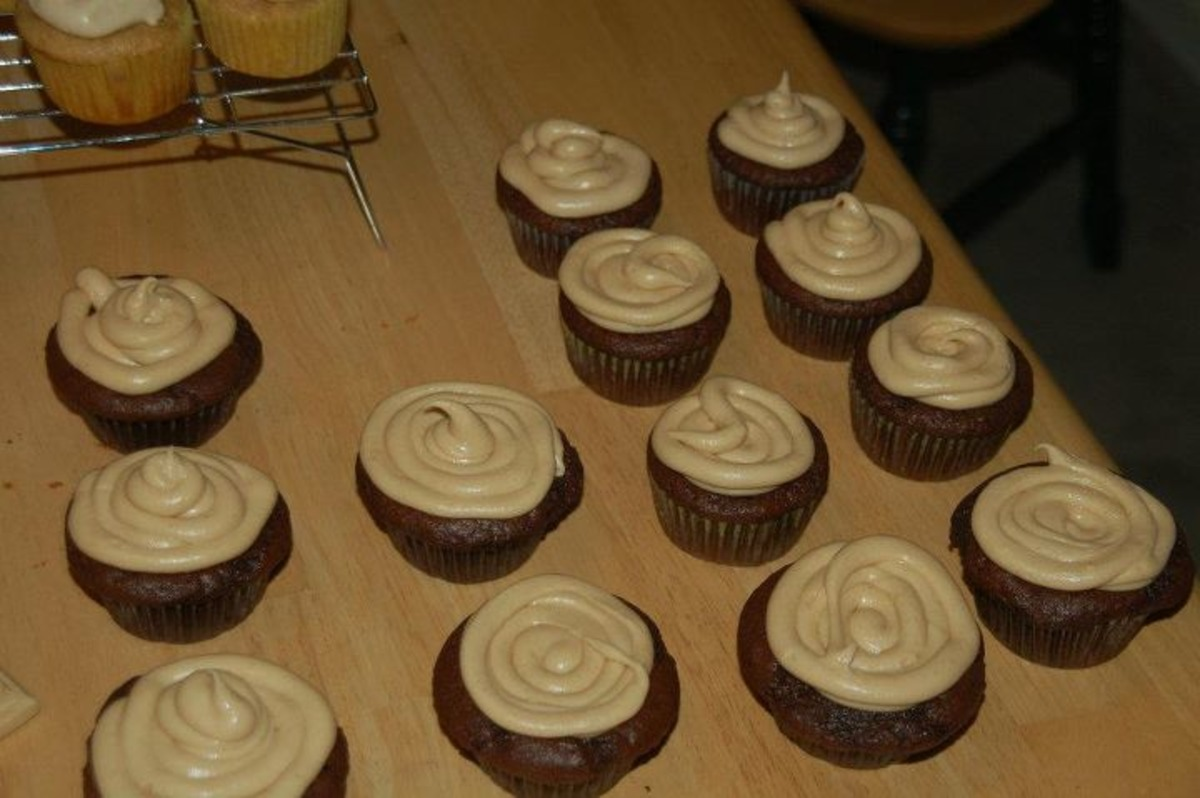 Peanut Butter Cream Cheese Frosting image