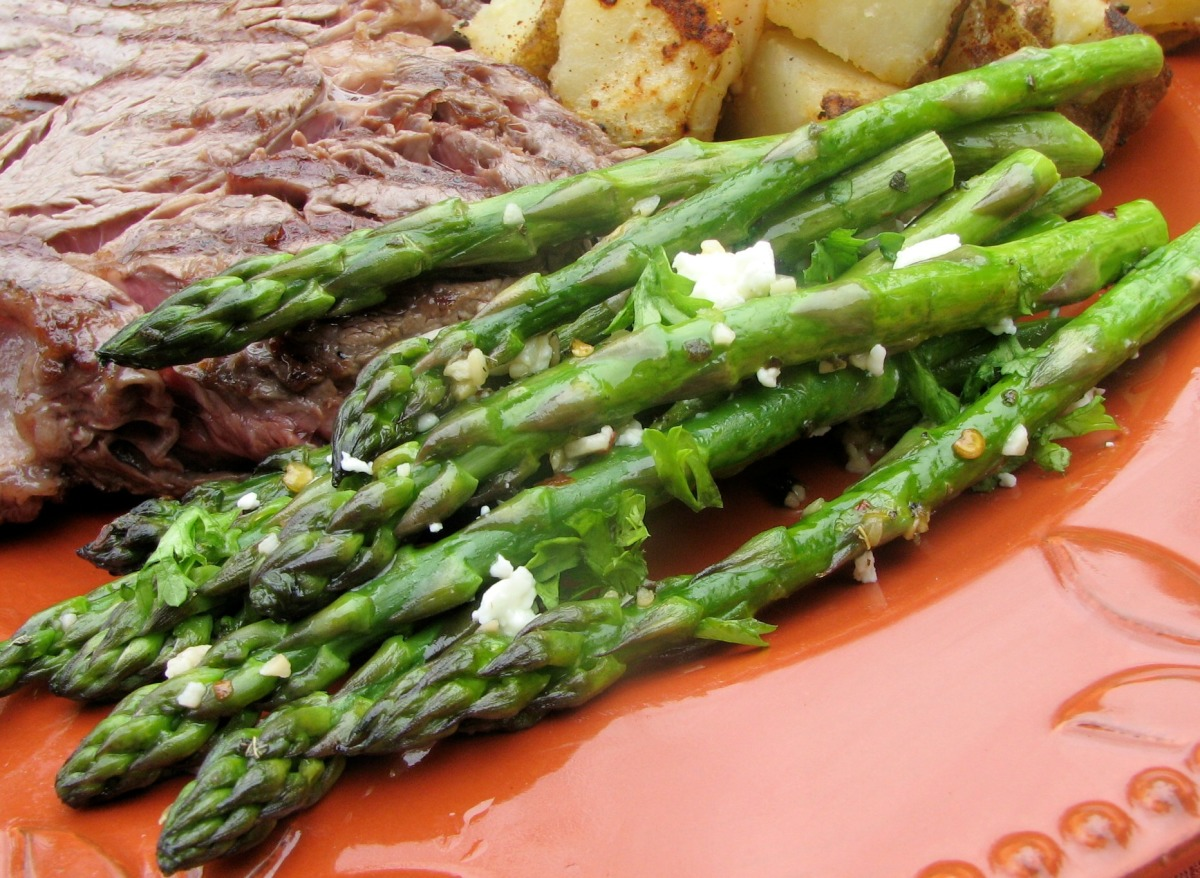 Roasted Asparagus with Feta_image