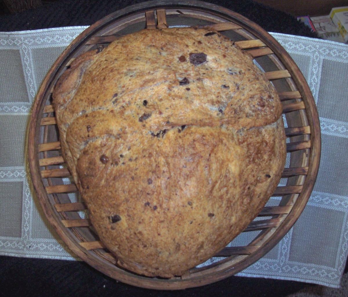 Greek Olive Bread image