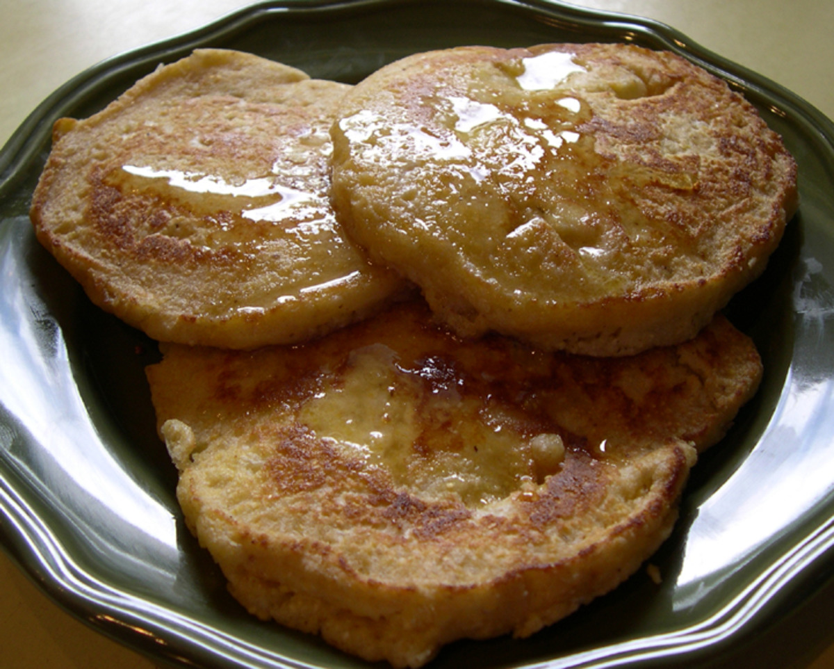Coconut and Corn Griddle Cakes image