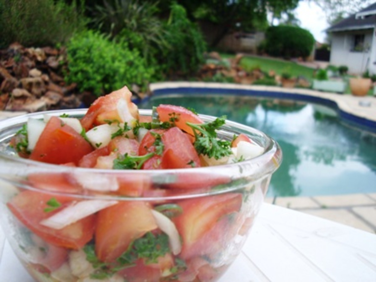 Chunky Tomato Salsa image