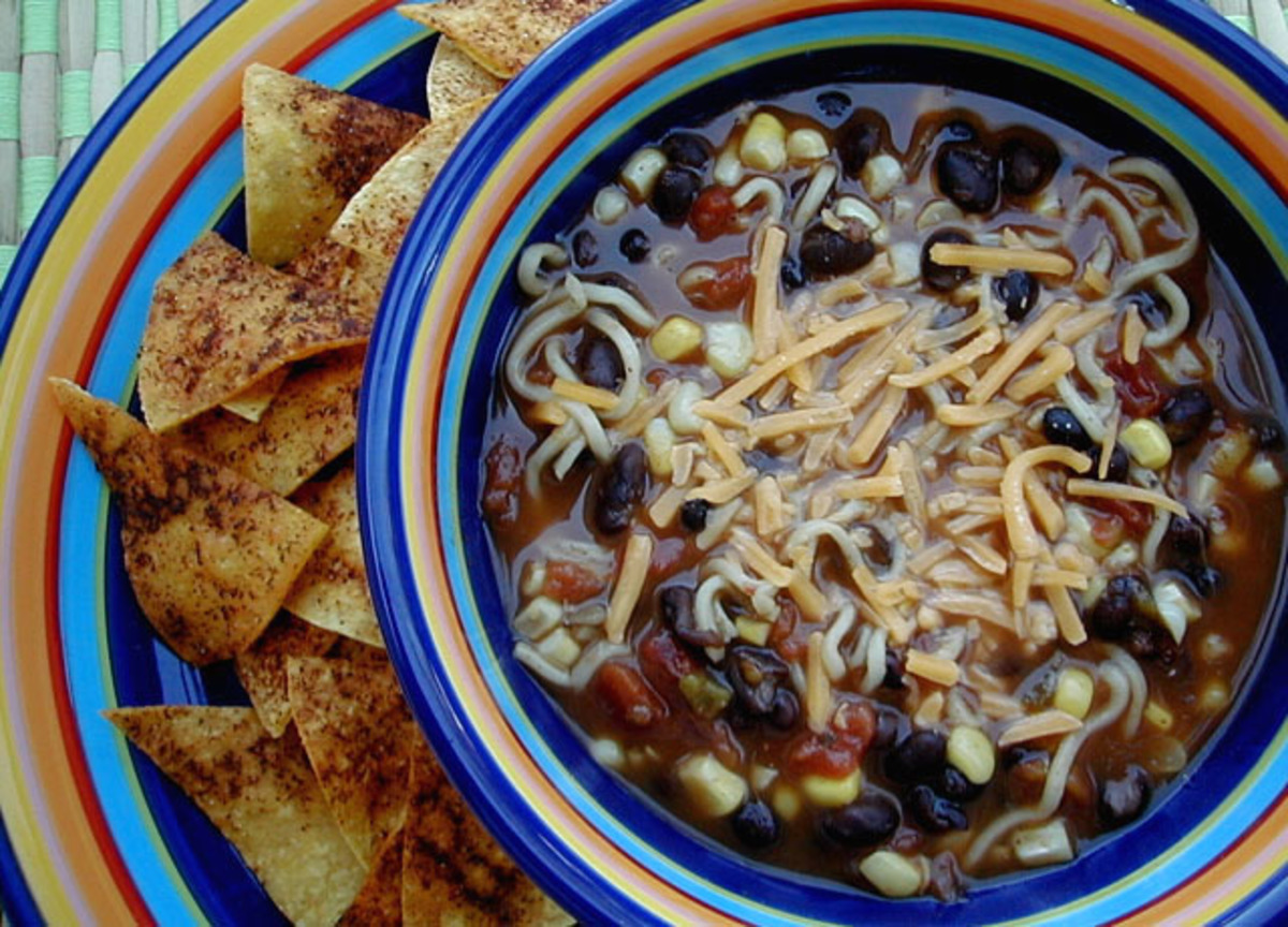 Spicy Noodle Soup image